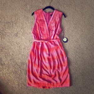Flattering dress!